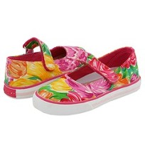 Pablosky Girls Madras shoes
