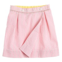 J crew crewcuts girls wrap skirt in Capri Pink