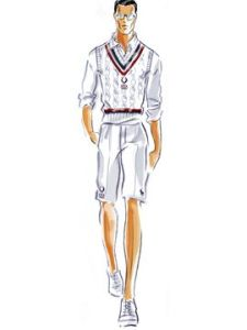 Ralph Lauren Polo Olympic Team Uniform sketch