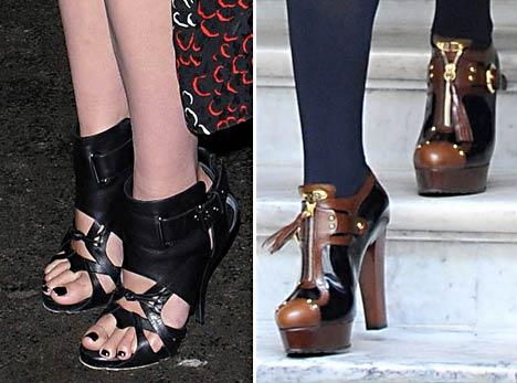 uber-prep Gwyneth Paltrow 7-inch Platform Heels