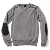Hickey Freeman Wool Cashmere Sweatshirt