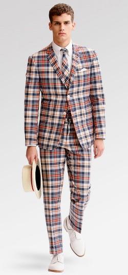 Brooks Brothers Thom Browne Madras Suit