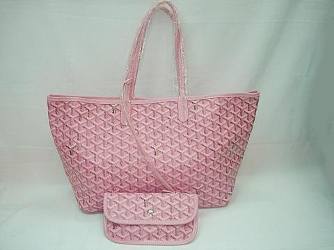 Pink Goyard bag from iauction