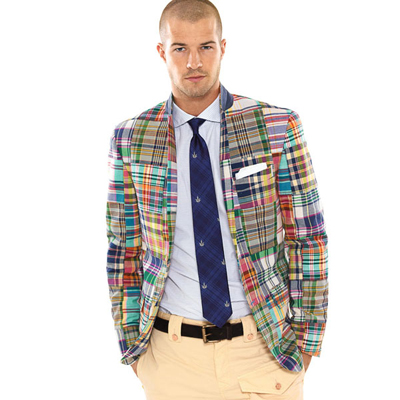 Hickey Freeman Madras Jacket