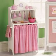 PB Kids pInk White Pie Safe