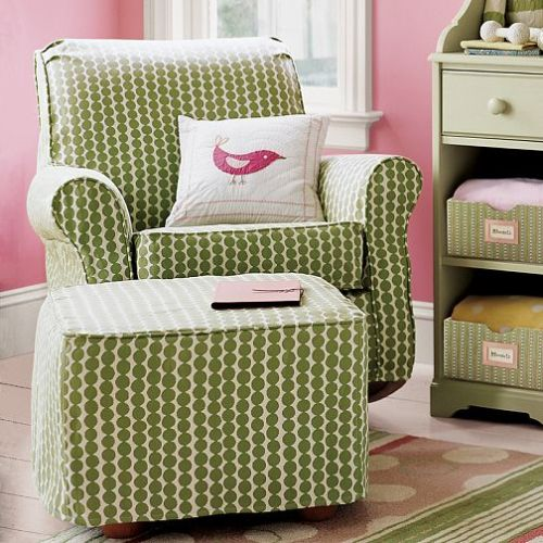 Pottery Barn Kids Glider with Hable fabric