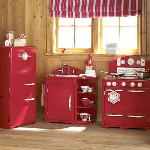 PB Kids Red Kitchen