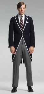 Brooks Brothers Thom Browne Look #1