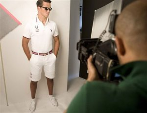 Ralph Lauren Olympic Uniforms Shoot #2