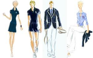 Ralph Lauren Wimbledon sketches
