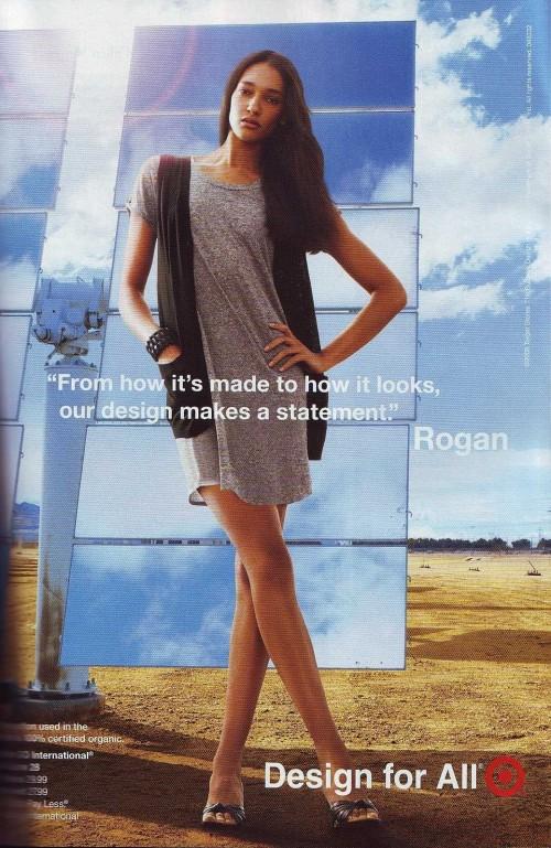 Rogan for Target ad