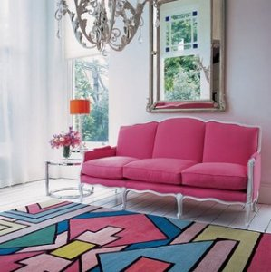 Pink Room #2 Rug Company