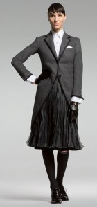 Brooks Brothers Thom Browne Women\'s Cashmere Morning Coat