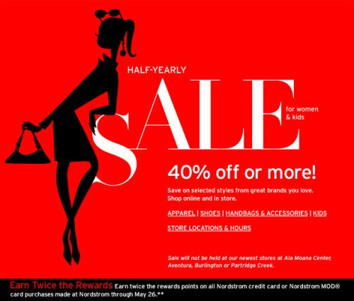 Nordstrom Half-Yearly Sale for Women & Kids