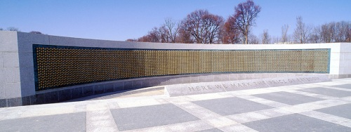 WWII Memorial Wall