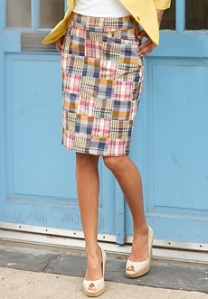 Chadwick\'s Madras Skirt