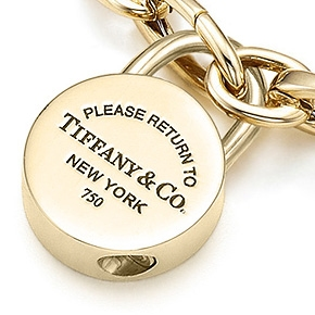 Return to Tiffany Charm & Bracelet