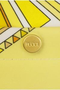 Emilio Pucci Sundial Canvas Tote Interior CU