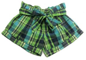 Victoria\'s Secret Green Madras shorts