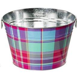 Whim Pink Madras Plaid Bucket Target Cynthia Rowley Whim Line