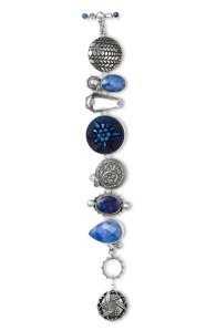 Mars & Valentine Blue Starburst Bracelet