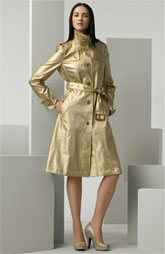 Gold Burberry Trench on sale at Nordstrom