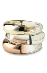 Tasha Organic Metal Resin Bangle
