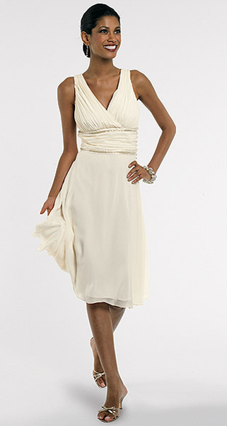 Barrie Pace Flowing Ruched Silk Dress