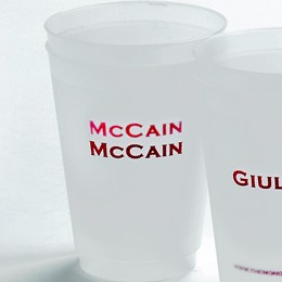 Monogram Shop McCain cup