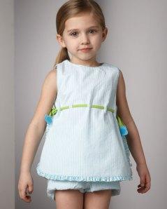 Florence Eiseman Seersucker Dress Neiman Marcus