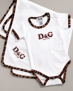 D&G Onesie Set at Neiman Marcus