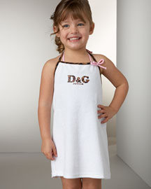 D&G Logo Coverup Junior Sized at Neiman Marcus