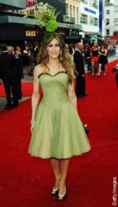 SATC London Premiere NY Post SJP Outfit