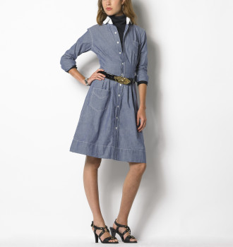Ralph Lauren Mona Chambray Dress