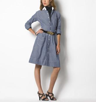 Ralph Lauren Mona Chambray Dress