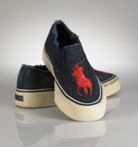 Ralph Lauren Polo Mens Big Pony Sneaker