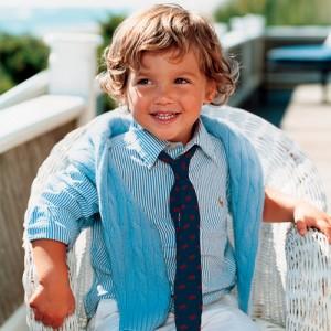 Polo Ralph Lauren Boys 2-7 Create Your Own Silk Tie