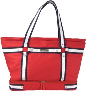 Roman Savell Red Tote