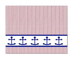 Hope Note Cards Red Ticking Anchors PreppyPrincess.com