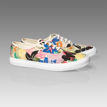 Paul Smith Hudson Floral Sneakers