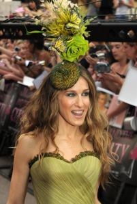 SATC Sex and the City London Premiere sjp Sarah Jessica Parker hat