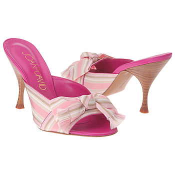 JOan & David Marjean Sandal with Grosgrain Preppy Bow