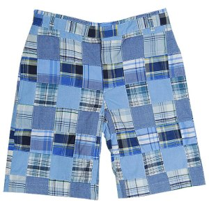 Best & Co Boys Madras Shorts