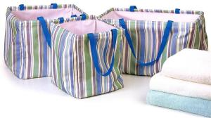 preppyPrincess.com Striped Set Charlevoix USA Totes
