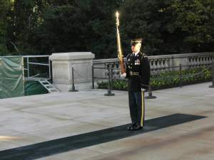 Henry Kass Photo of the Sentry at the Tomb of the Unknown