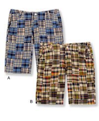 Duck Head Madras shorts at Goody\'s