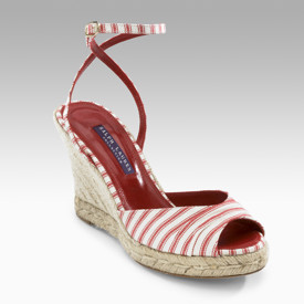Ralph Lauren Collection espadrilles at Saks Fifth 5th Avenue on sale