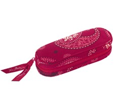 Vera Bradley mesa Red eyeglass case