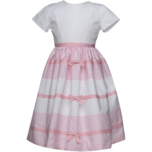 Pink Paneled Joan Calabrese Dress