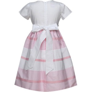 Pink Paneled Joan Calabrese Dress Best & Co.